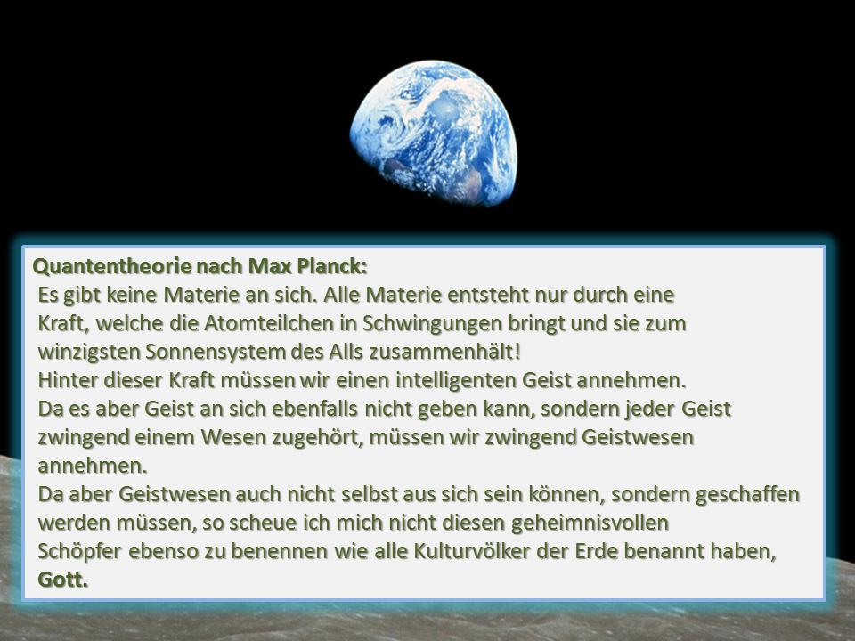 Quantentheorie Max Planck